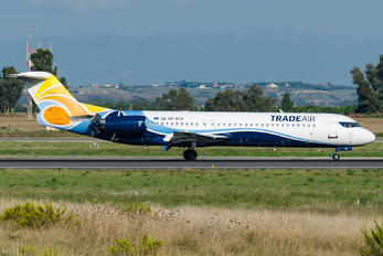 9A-BTD - Trade Air Fokker 100