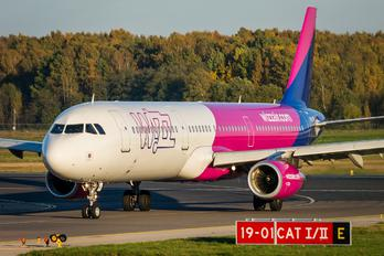 HA-LXQ - Wizz Air Airbus A321