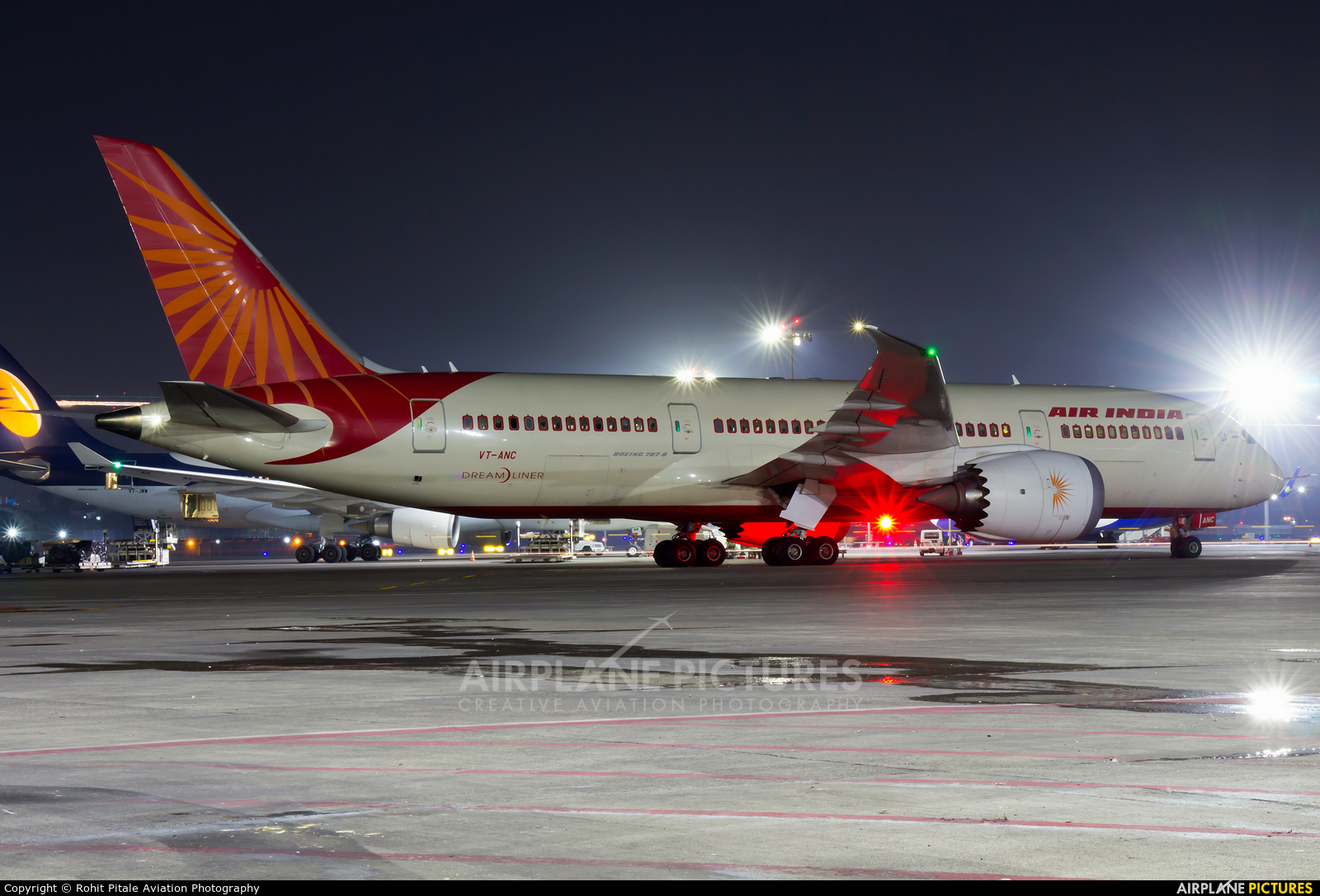 Air India VT-ANC aircraft at Mumbai - Chhatrapati Shivaji Intl