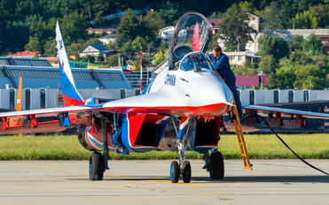 "RF-92134 - Russia - Air Force ""Strizhi"" Mikoyan-Gurevich MiG-29"