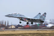 "18 - Russia - Air Force ""Strizhi"" Mikoyan-Gurevich MiG-29UB aircraft"