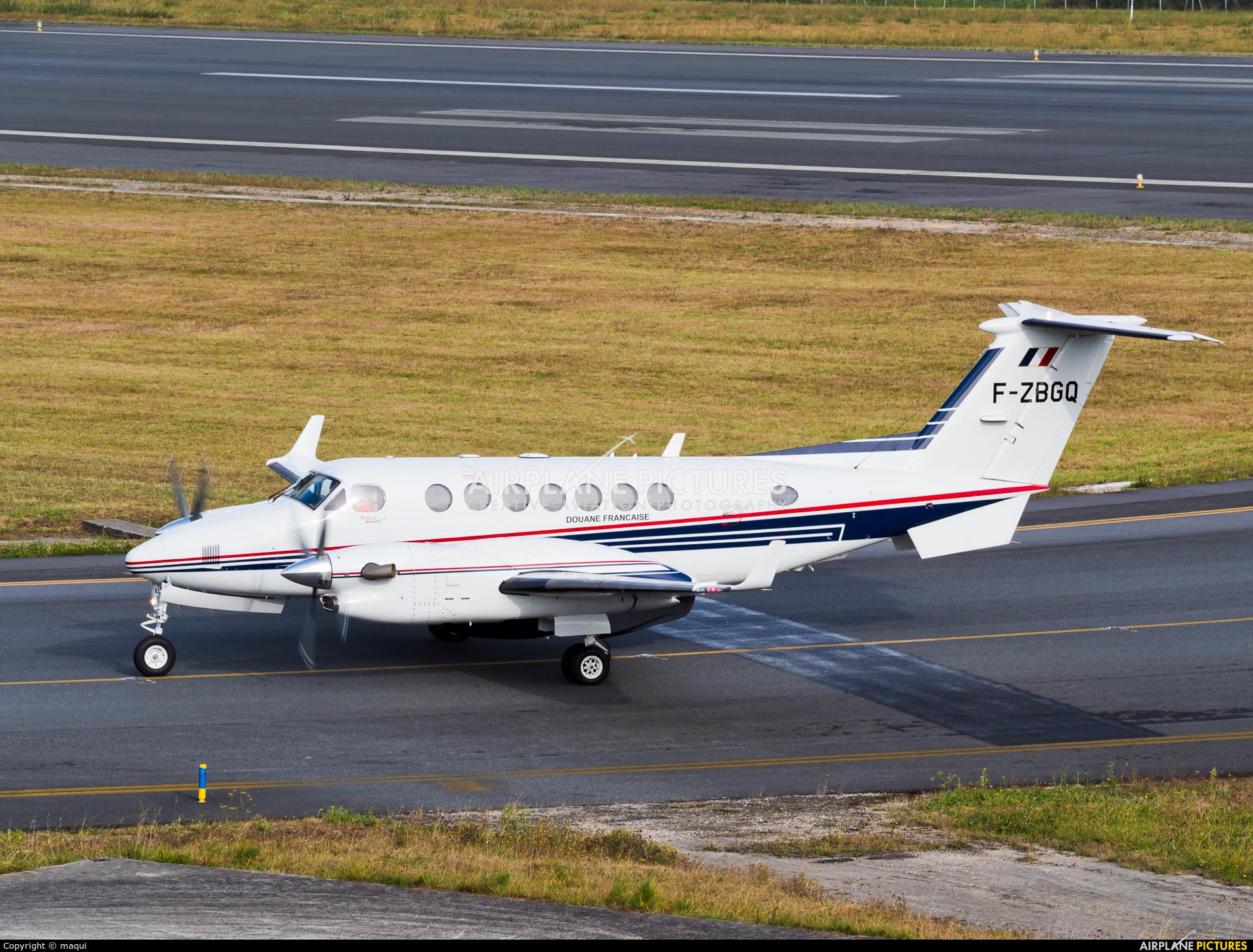 France - Customs F-ZBGQ aircraft at La Coruña