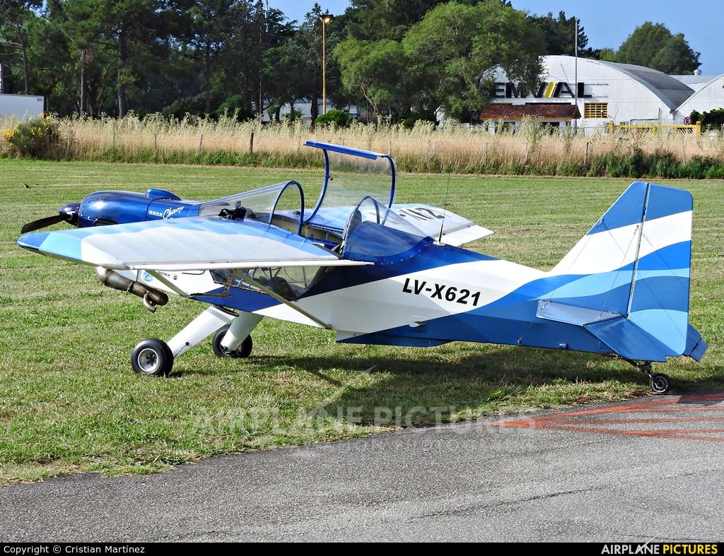 Private LV-X621 aircraft at Mar del Plata Astor Piazzolla