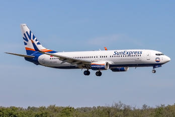 TC-SOC - SunExpress Boeing 737-8H6