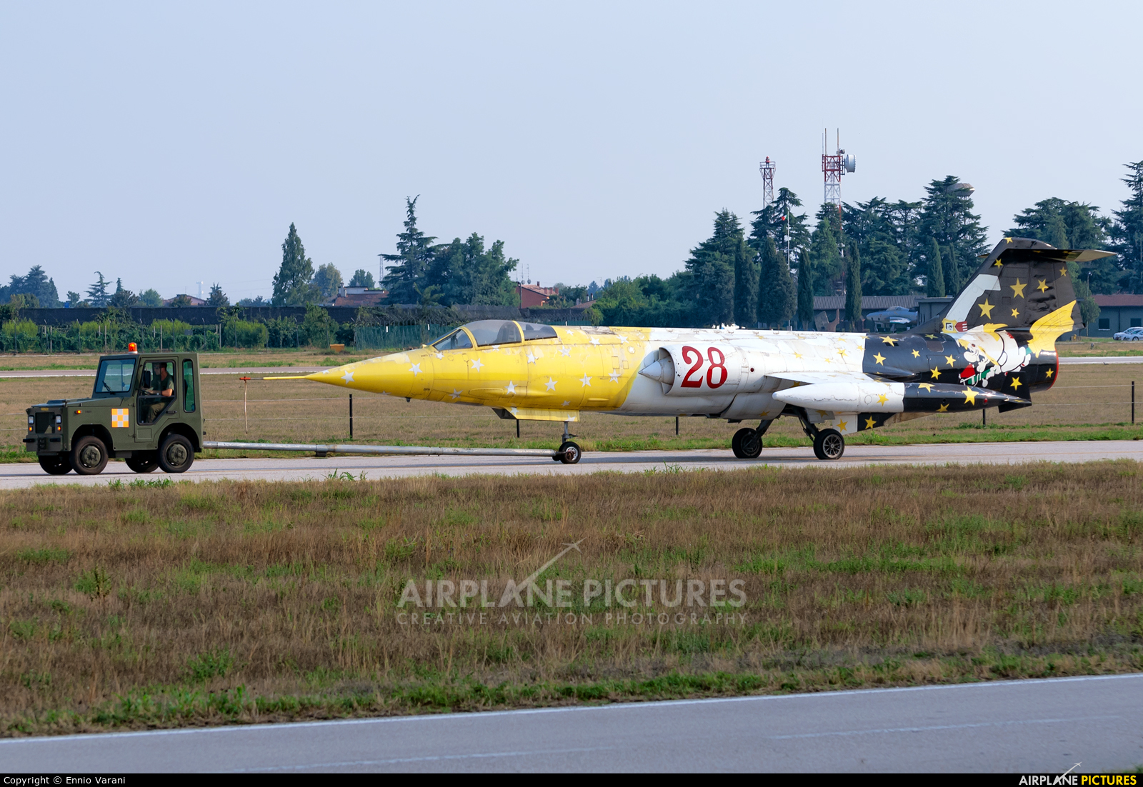 Italy - Air Force MM6579 aircraft at Verona - Villafranca
