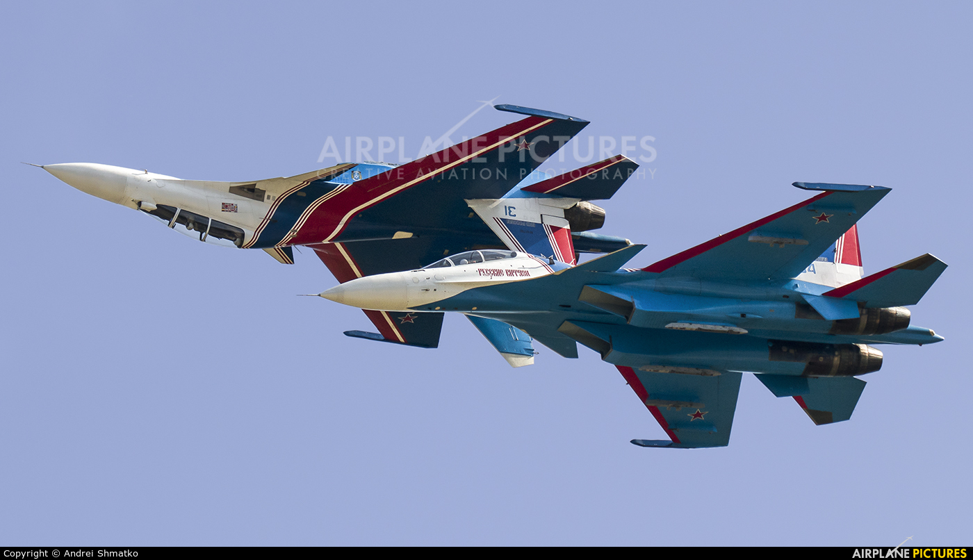 "Russia - Air Force ""Russian Knights"" RF-81705 aircraft at Kubinka"