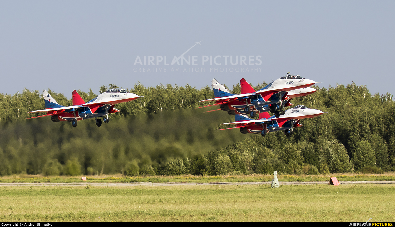 "Russia - Air Force ""Strizhi"" RF-91944 aircraft at Kubinka"