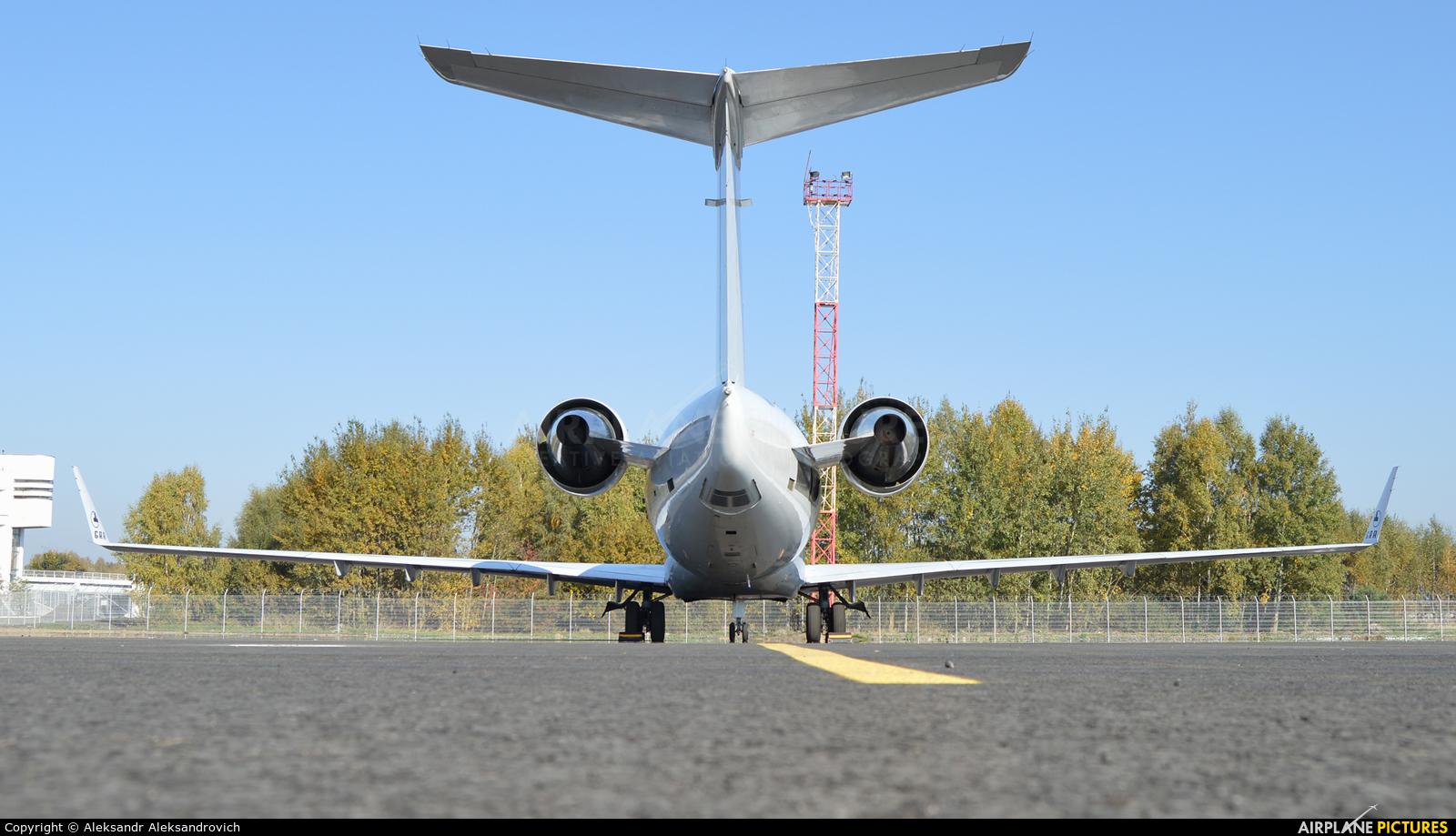 Global Reach Aviation D-AGRA aircraft at Brest Airport