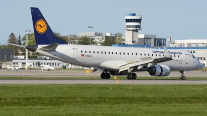 D-AECA - Lufthansa Regional - CityLine Embraer ERJ-190 (190-100)