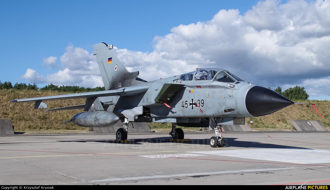 Germany - Air Force 45+39 aircraft at Świdwin