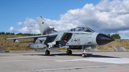 45+39 - Germany - Air Force Panavia Tornado - ECR