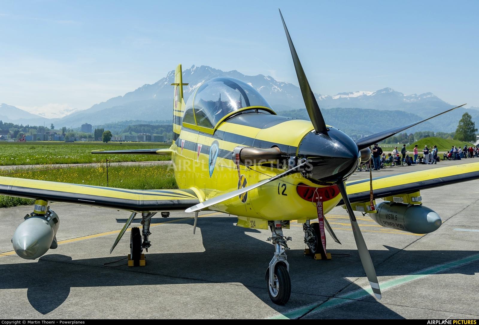 Switzerland - Air Force C-412 aircraft at Emmen
