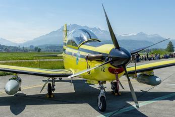 C-412 - Switzerland - Air Force Pilatus PC-9M