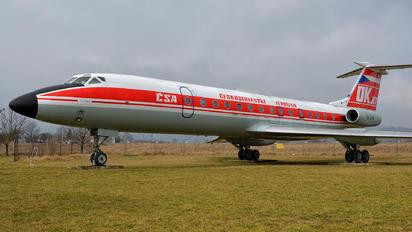 OK-AFB - CSA - Czech Airlines Tupolev Tu-134A