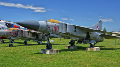 140 - Poland - Air Force Mikoyan-Gurevich MiG-23MF