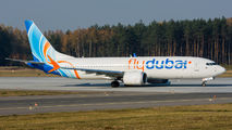 First visit of FlyDubai Boeing 737 MAX to Katowice title=