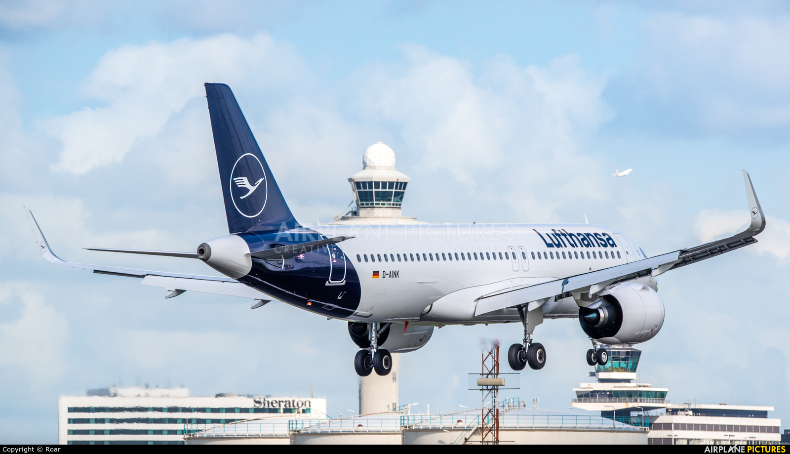 Lufthansa D-AINK aircraft at Amsterdam - Schiphol