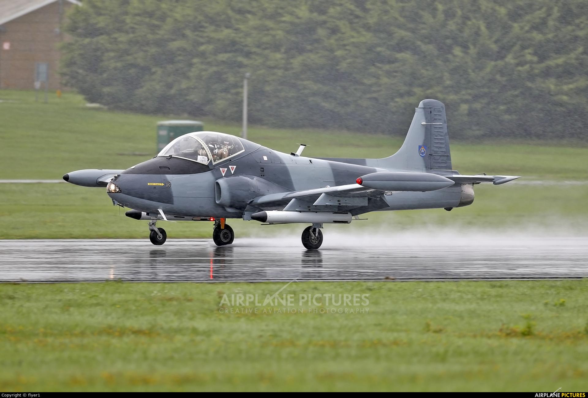 North Wales Military Aviation Services G-SOAF aircraft at Dunsfold