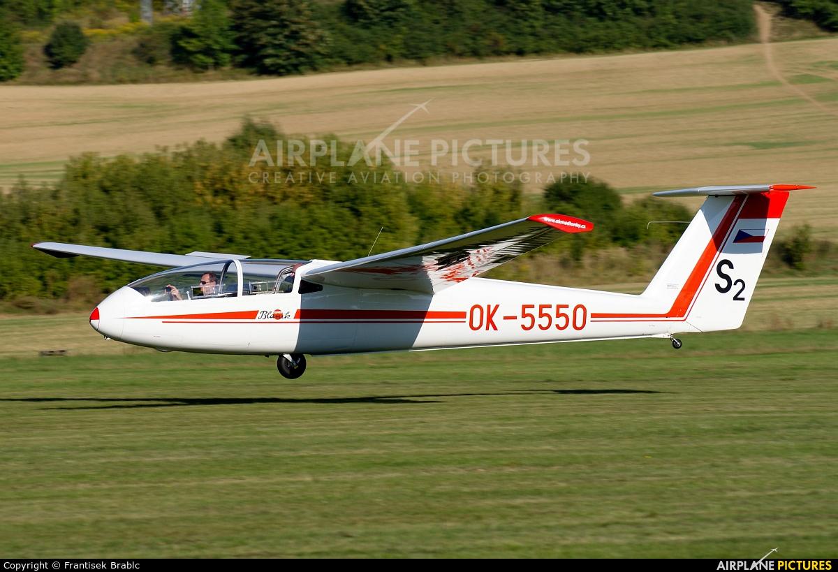 Aeroklub Brno Medlánky OK-5550 aircraft at Medlánky