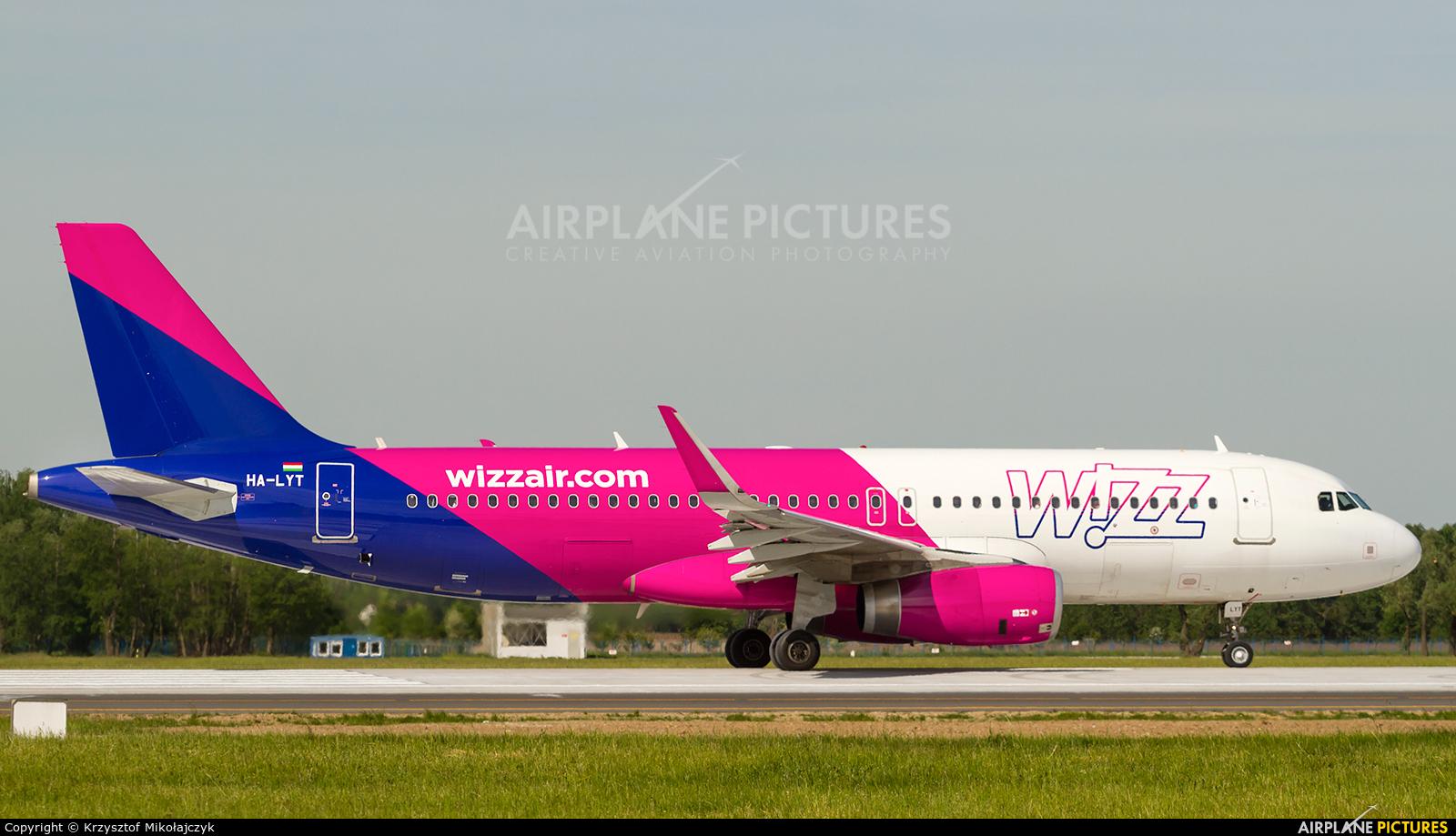 Wizz Air HA-LYT aircraft at Wrocław - Copernicus