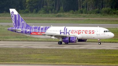 B-LCH - Hong Kong Express Airbus A320
