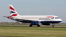 G-EUPO - British Airways Airbus A319 aircraft