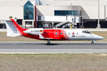 D-CNUE - FAI - Flight Ambulance International Learjet 60