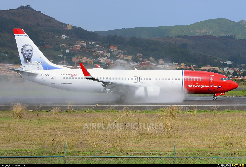 Norwegian Air International EI-FJV aircraft at Tenerife Norte - Los Rodeos