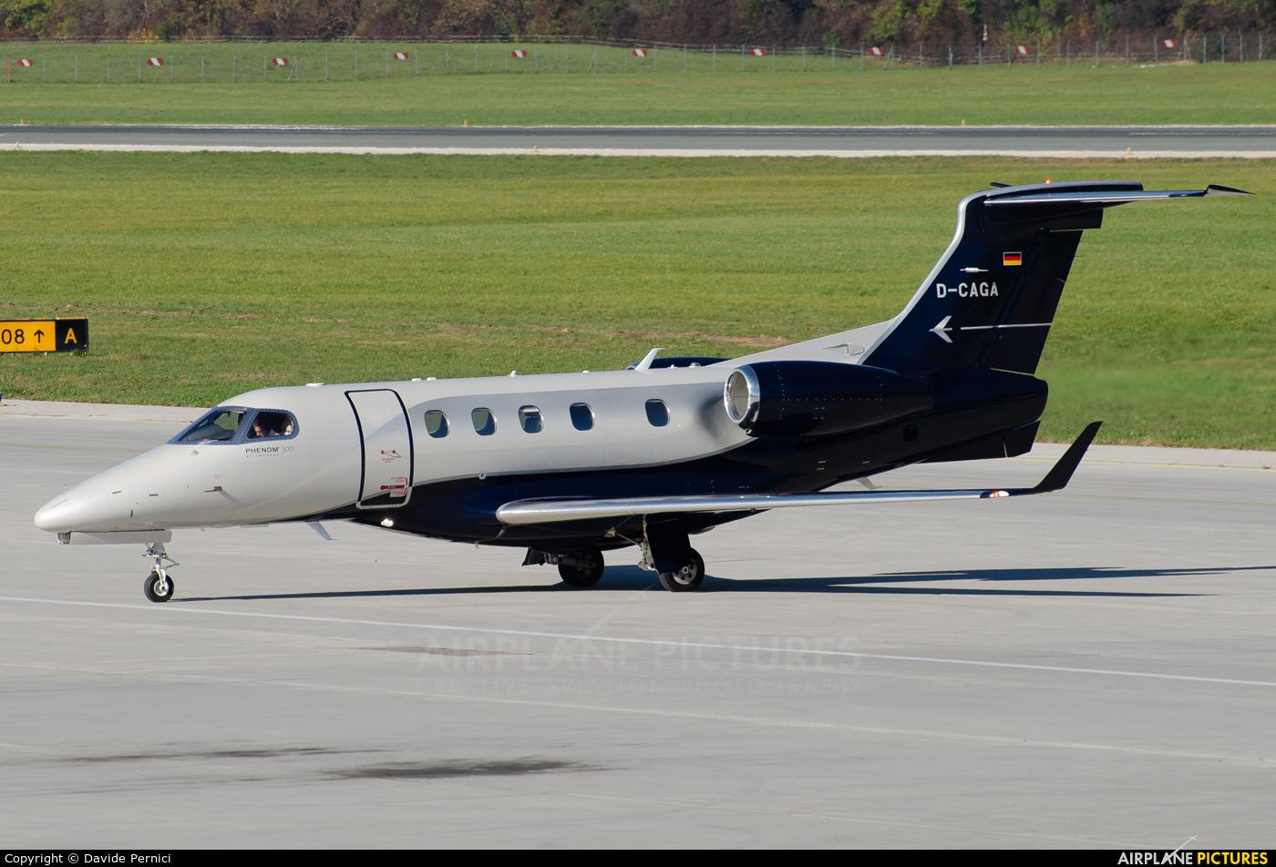 Private D-CAGA aircraft at Innsbruck