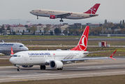 TC-LCD - Turkish Airlines Boeing 737-8 MAX aircraft