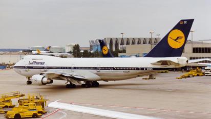 D-ABZE - Lufthansa Boeing 747-200