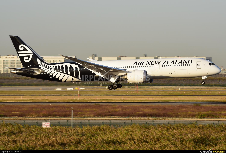 Air New Zealand ZK-NZC aircraft at Shanghai - Pudong Intl