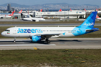 9K-CAL - Jazeera Airways Airbus A320
