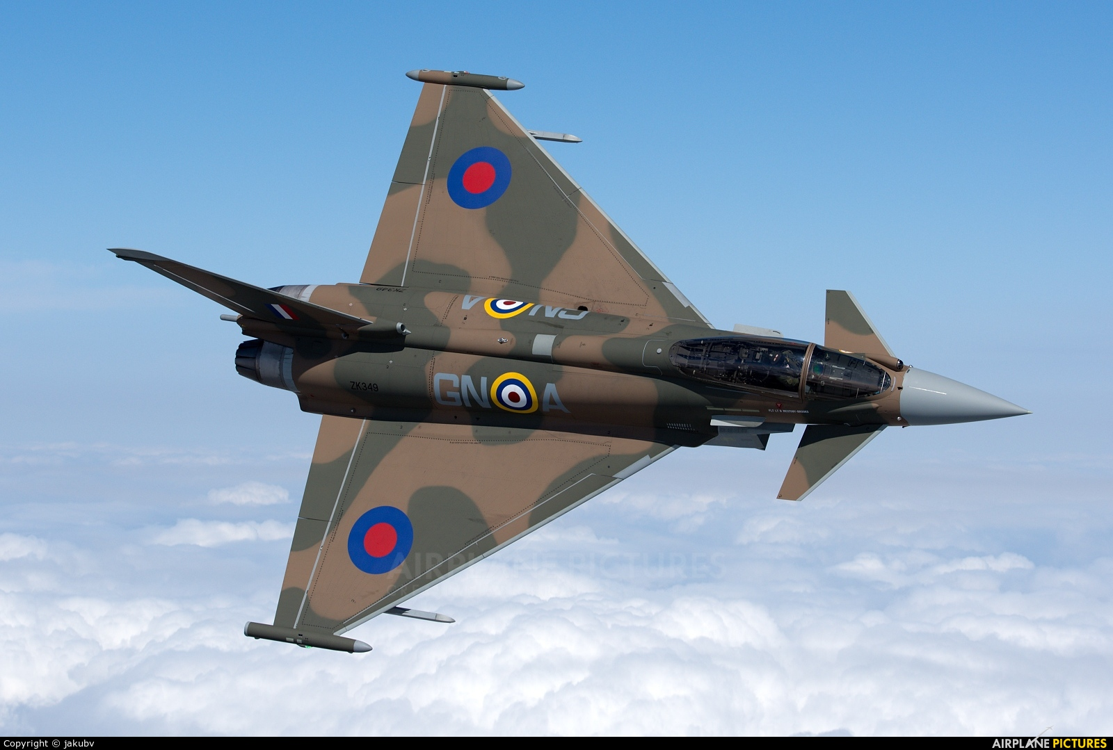 Royal Air Force ZK349 aircraft at