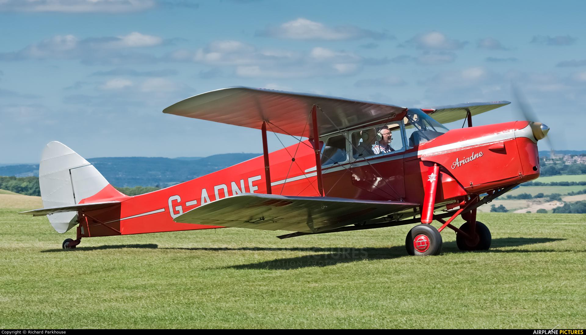 Private G-ADNE aircraft at Compton Abbas