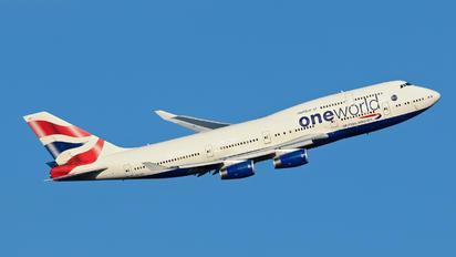 G-CIVP - British Airways Boeing 747-400