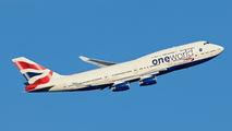 G-CIVP - British Airways Boeing 747-400 aircraft