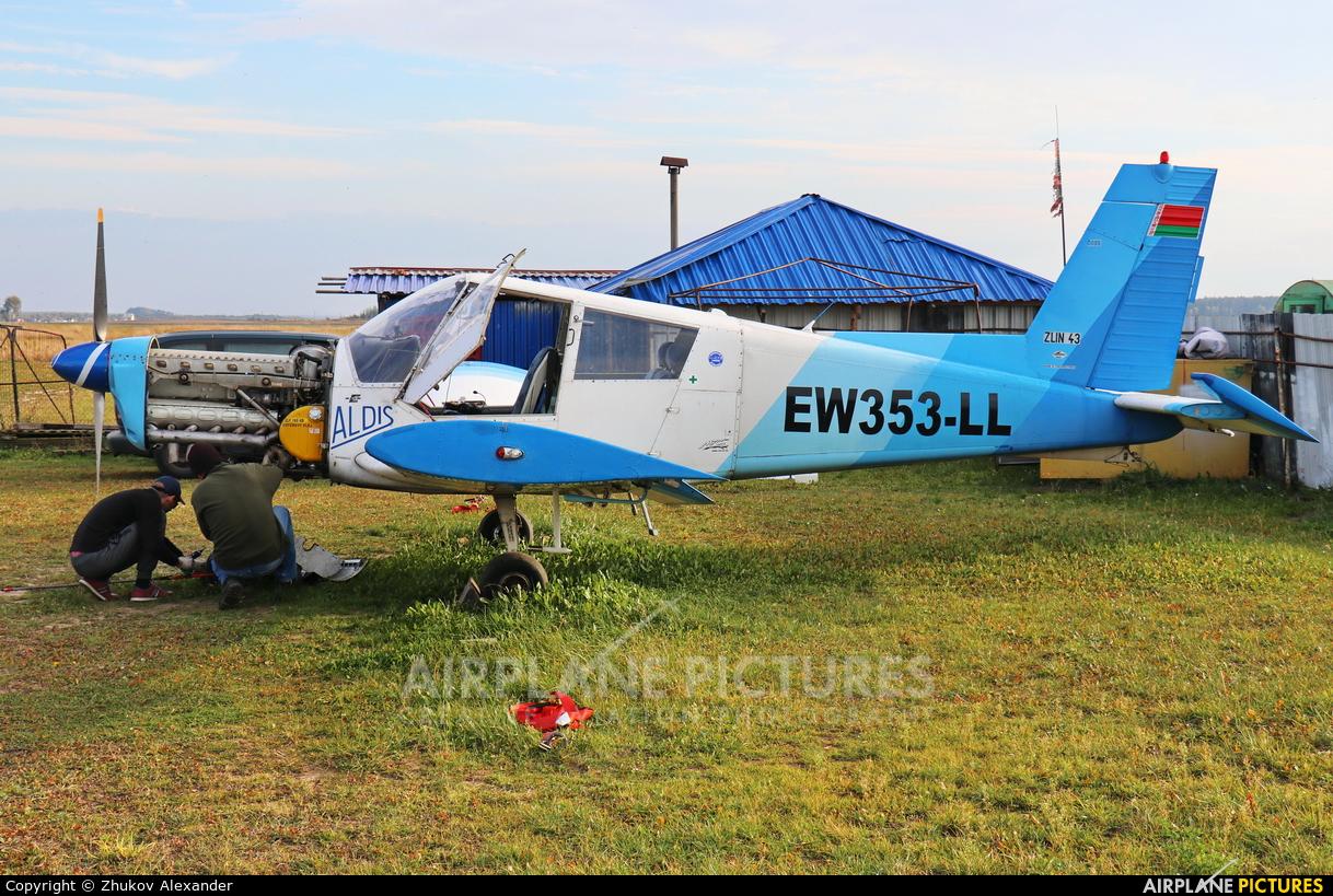 Private EW-353LL aircraft at Voyrovka