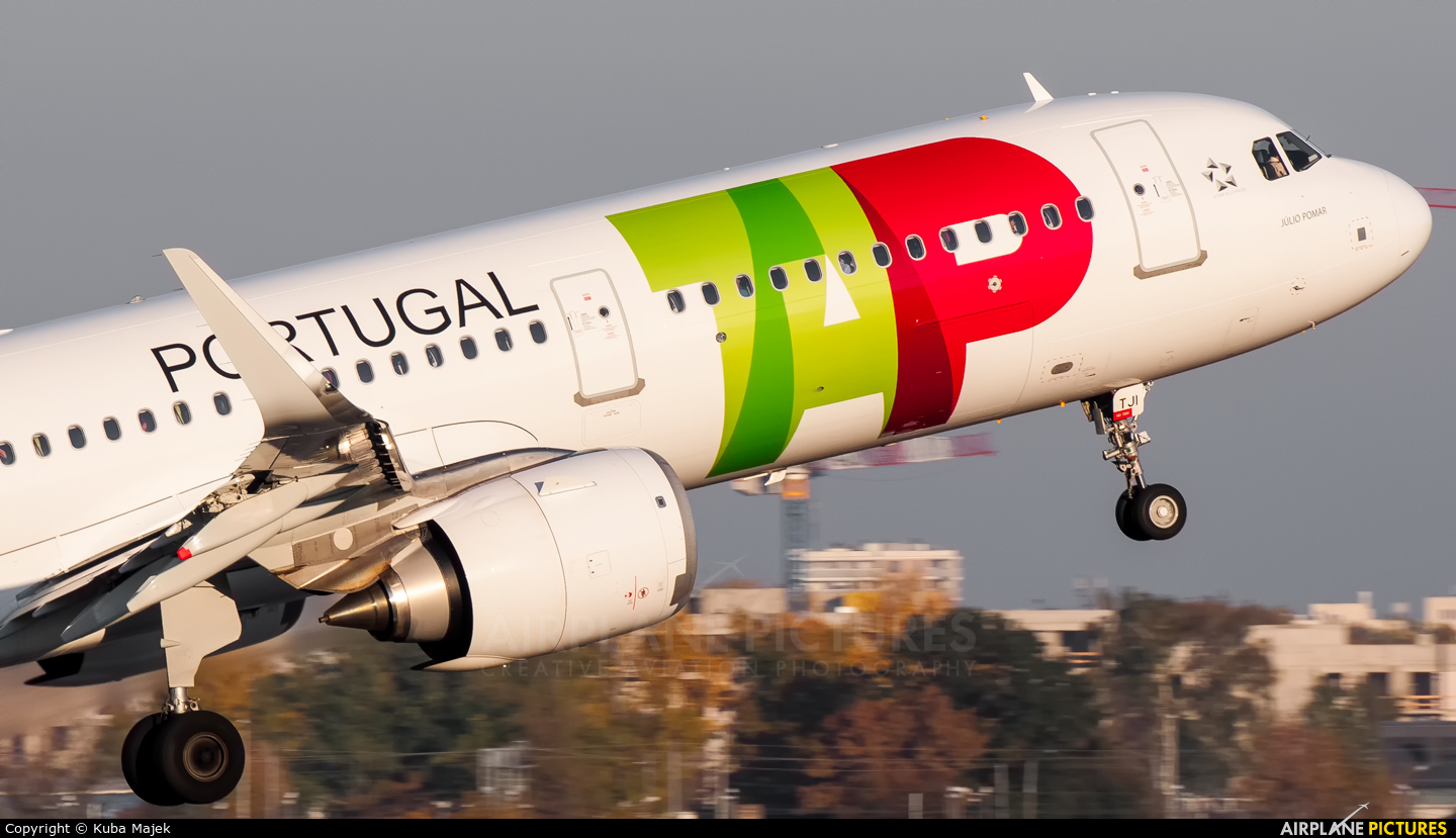 TAP Portugal CS-TJI aircraft at Warsaw - Frederic Chopin