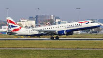 G-LCYW - British Airways - City Flyer Embraer ERJ-190 (190-100) aircraft