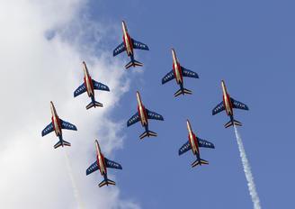 """F-UHRE - France - Air Force """"Patrouille de France"""" Dassault - Dornier Alpha Jet E"""