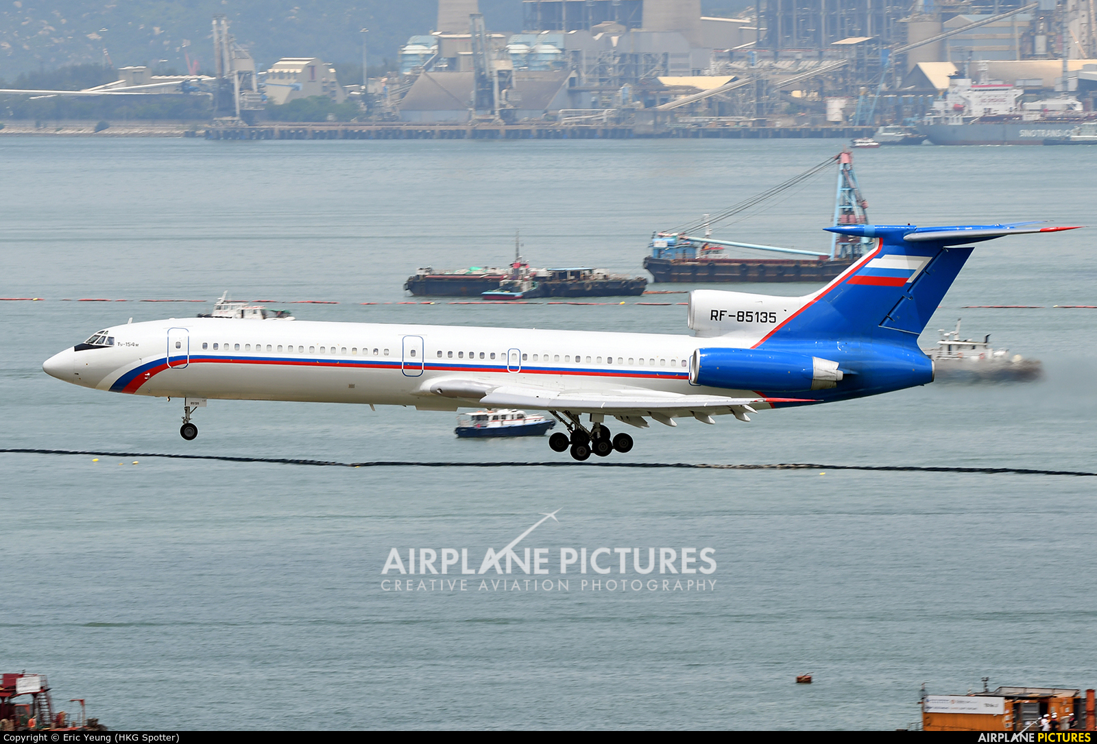 Russia - Ministry of Internal Affairs RF-85135 aircraft at HKG - Chek Lap Kok Intl