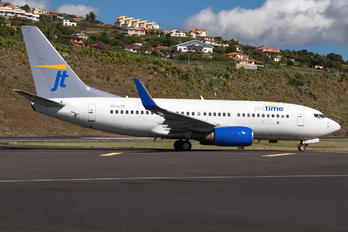 OY-JTP - Jet Time Boeing 737-700