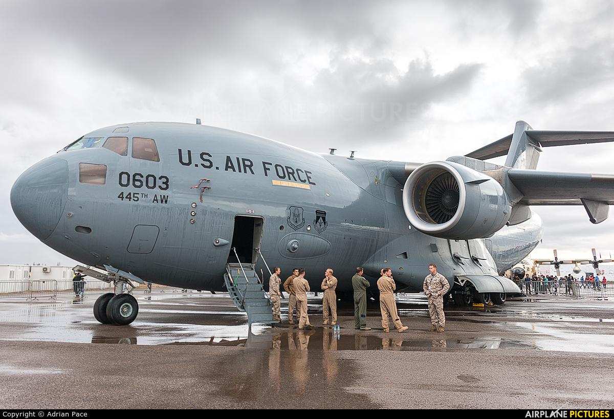 USA - Air Force 93-0603 aircraft at Marrakech - Menara