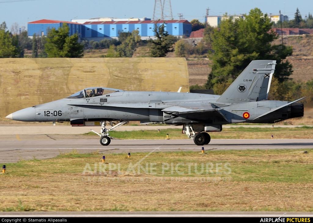 Spain - Air Force C.15-48 aircraft at Tanagra