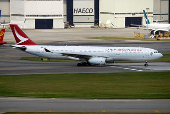 B-HLE - Cathay Dragon Airbus A330-300