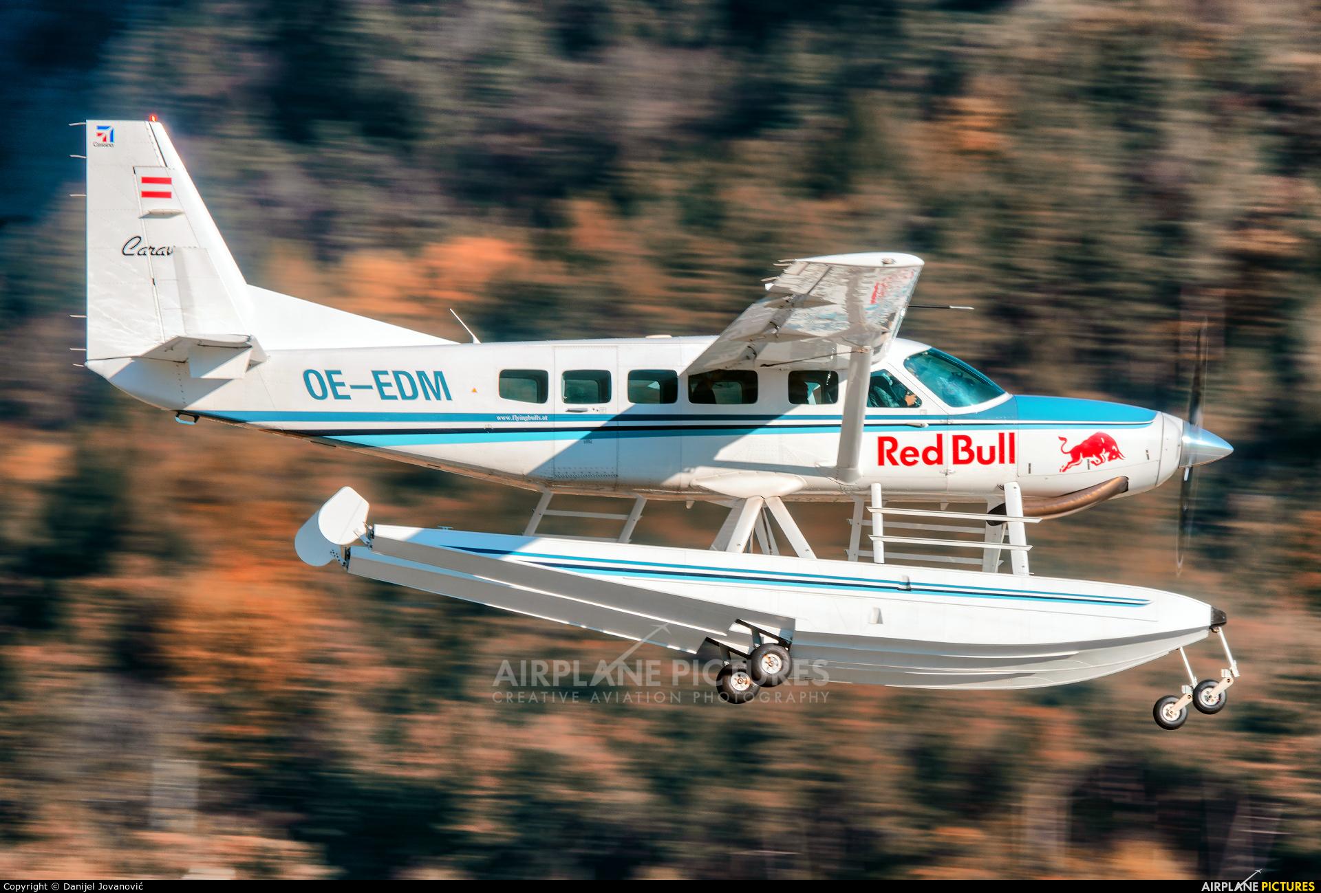 The Flying Bulls OE-EDM aircraft at Innsbruck