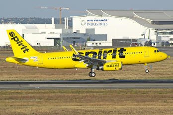 F-WWIT - Spirit Airlines Airbus A320