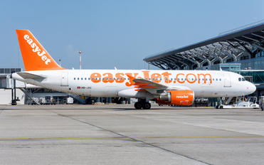 HB-JXC - easyJet Switzerland Airbus A320