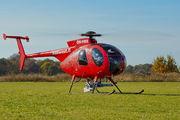 OH-HNX - Heliwest Hughes 369D aircraft